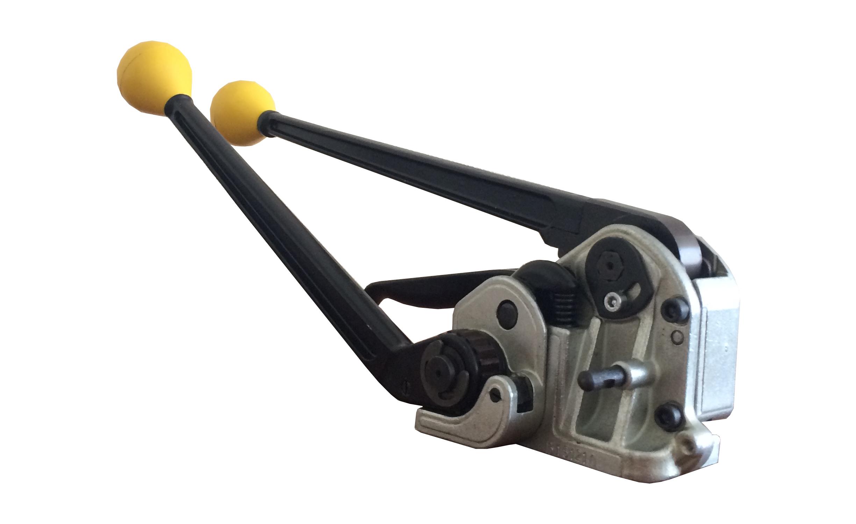 Комбинированное устройство для обвязки грузов металлической лентой M4K-32